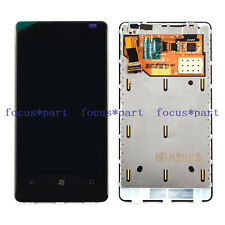 New Black LCD Display screen+Touch Digitizer+Frame For Nokia Lumia 800
