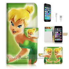 iPhone 7 (4.7') Flip Wallet Case Cover P1280 TinkerBell