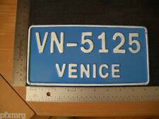 VENICE NOVELTY LICENSE PLATE ITALY CALIFORNIA FLORIDA BEACH car number t shirt