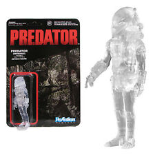 "Predator Clear Masked Predator ReAction 3 3/4"" Retro Figure - New in stock"