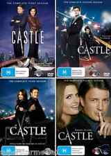 Castle COMPLETE COLLECTION Seasons 1 - 4 : NEW DVD