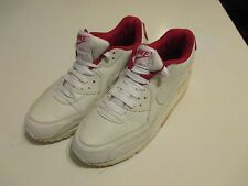 Nike Air Max Red and White Shoes Size 8