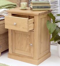 Conran solid oak living room furniture side end lamp bedside table