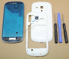 COQUE COMPLET REMPLACEMENT FACADE CHASSIS PR SAMSUNG GALAXY S3 MINI i8190 BLANC
