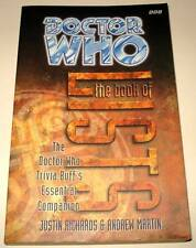 DOCTOR WHO : The BOOK OF LISTS BBC Paperback Book 1997  VFN