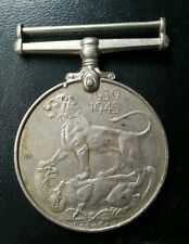 BRITISH INDIA 2ND WORLD WAR MEDAL KG VI 1939-1945 L@@K!
