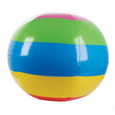 "(2) GIANT BEACH BALLS 48"" Inflatable Blow Up Pool Toy - NEW #AA14 Free Shipping"