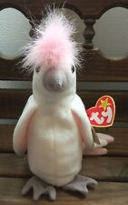 1997 EARLY KUKU THE WHITE COCKATIEL-TY BEANIE BABY
