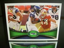 Rare Marshawn Lynch Topps 2012 Card #372 Seattle Seahawks NFL Football
