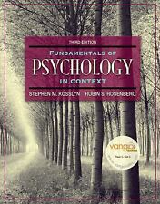 Fundamentals of Psychology in Context (3rd Edition) (MyPsychLab Series)