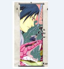 Naruto SHIPPUDEN Uchiha Sasuke Home Decor Japanese Poster Anime Wall Scroll