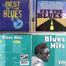 Best Blues Hits v/a Cd Lot x5 BB Big Joe Turner Muddy Howlin Bessie T Bone Walkr