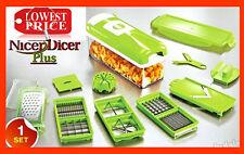 FRUIT CUTTER NICER DICER PLUS MULTI CHOPPER VEGETABLE AND SLICER GENIUS OREDFVG
