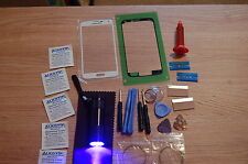 Samsung Galaxy S5 i9600 Front Glass Repair Kit White, Loca Glue Uv Torch