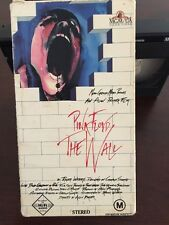 Pink Floyd - The Wall Vhs 1982 - With Bob Geldorf