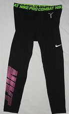 NEW! NIKE PRO COMBAT Compression Pants Mens 4X 4XL Black NWT!