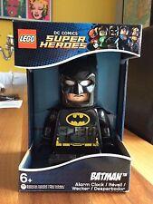 Lego Batman alarm clock - LED Display - DC Comics Superheroes - BNIB  **NEW**