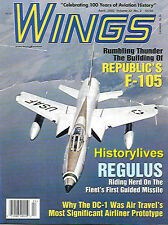 Wings Apr.02 Republic F-105 Thunderchief Fighter Bomber Regulus Cruise Missle