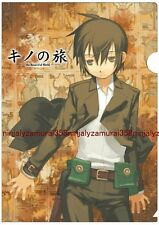 Kino's Journey clear file folder Kino no Tabi Travels official anime