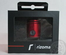 Rizoma CT017 Brake Fluid Reservoir, Bottom Outflow, Bracket Included, Red