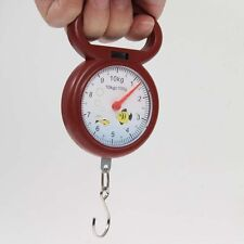 Portable New Fishing Weighing Dial Handheld Numeral Pointer Hanging Scale 10kg