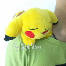 "Pikachu RIDING on the Shoulder 7"" #2 Poke Plush Doll Stuffed Toy"