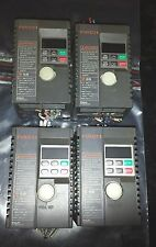Lot of Four Fuji Electric AC Inverter Frequency Drive FVR-C11