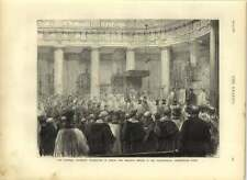 1875 O'connell Centenary Celebrations In Pro-cathedral Marlborough Street