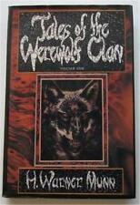 TALES OF THE WEREWOLF CLAN VOL 1 H WARNER MUNN 1979 1ST ED DJ DONALD M GRANT