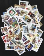 [JSC] 50++ pcs BRITISH CHANNEL ISLANDS STAMPS~(JERSEY, GUERNESY, ISLE OF MAN)