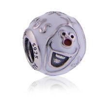Genuine Pandora Silver Disney Olaf Charm 791794ENMX Authentic