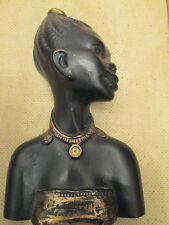 50s wall head african lady picture