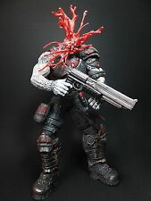 Gears of War Locust neca drone ACTION FIGURE 7 INCH TALL exploding head great