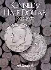 Kennedy Half Dollar Coin Folder Album #2, 1985-1999 by H.E. Harris