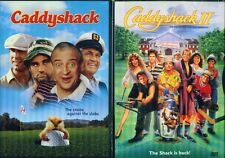 CADDYSHACK 1 & 2: Classic Comedy Combo Set - NEW 2 DVD