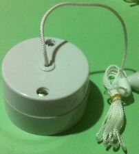 Vintage Pull Switch Crabtree 2041 6A Ceiling pull cord switch