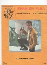 Herb Alpert & The Tijuana Brass Spanish Flea (writing inside)  US  Sheet Music