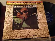 "SNOOKS EAGLIN - THE LEGACY OF THE BLUES VOL 2 -  12"" LP SPAIN BLUES"