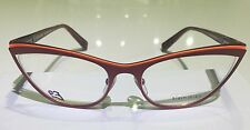 Alain Mikli Red Eyeglasses  A02003 M0JQ. Made In France. F/F