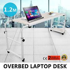 Home Movable Adjustable Laptop Computer Desk Table Over Bed Storage Furniture