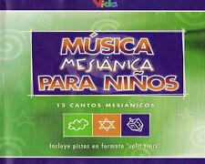 Musica Mesianica Para Ninos- musica cristiana CD