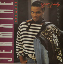 "JERMAINE STEWART - GET LUCKY Single 7"" (I884)"