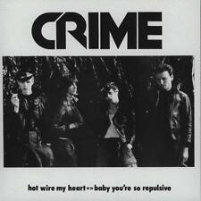 "CRIME - Hot Wire My Heart + Baby You're So Repulsive 7""  Punk"