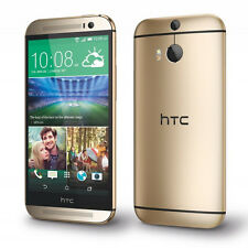 "New HTC One M8 32GB  Dual 4MP Camera 3G 4G WIFI  5"" Unlocked Mobile Phone - ORO"