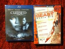 Cursed + Flesh for the Beast & Late Fee ( 4 - Disc Blu-ray Set )