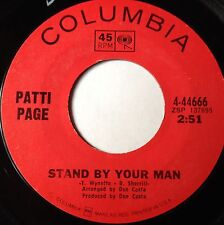 Patti Page 45 Stand By Your Man / Red Summer Roses