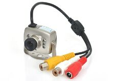 Mini Tiny 6 IR LED CCTV Security Camera Spy Cam IR Night Vision