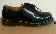 DR. MARTENS 1461 GREEN VERT ARCADIA POLISHED   LEATHER  SHOES SIZE UK 11