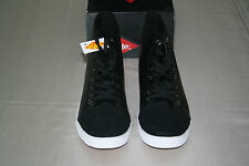 NEW LEE COOPER MEN'S BLACK CASUAL Ankle Boots LACES UP SIZE: US 10 EUR 43