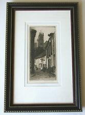 Rue de la Tan Nerie a MORET-ETCHING-CAROLINE H. ARMINGTON (1875-1939)